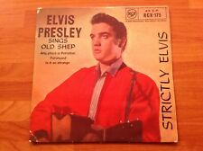 ELVIS PRESLEY - 1959 Vinyl 45rpm EP 7-Single - STRICTLY ELVIS