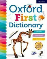 Oxford First Dictionary by Oxford Dictionaries 9780192767219 | Brand New