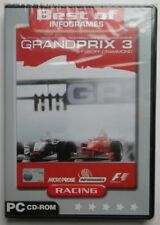 GRAND PRIX 3 BY GEOFF CRAMMOND PC MULTILANGUAL BRAND NEW