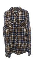 XXL Rebel 8 Brown Flannel Shirt Size 2XL
