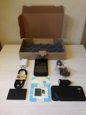 """HTC INCREDIBLE S BLACK 4GB 8 MEGAPIXEL SMARTPHONE 4"""" ANDROID 2.3.5 WIFI GPS 3G"""