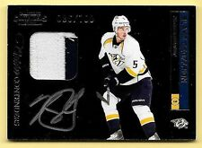 11/12 Contenders #230 Blake Geoffrion 2 Color Patch On Card Autograph RC #86/100
