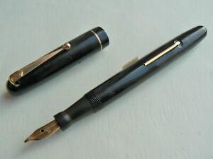Serviced Mabie Todd Swan 3162 Fully Flexible Gold Nib Fountain Pen