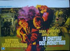 FROZEN DEAD Belgian movie poster DANA ANDREWS RAY ELSEVIERS 1966 NM