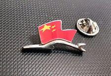 Porsche Pin Silhuette Flagge China 28x15mm limitierte Auflage