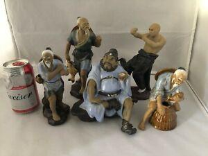 "Chines Vintage Antique Reproduction Figurines ( 5 pcs Lot) ""9"" (H) #MD115"