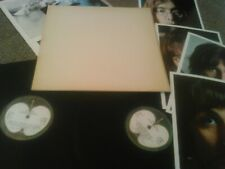 THE BEATLES - S / T (WHITE ALBUM) 2X LP + POSTER & 4 PHOTOS!!! UK APPLE EMBOSSED