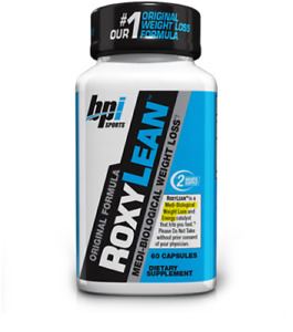 Bpi Sports Roxylean 60 Capsules Weight Loss Support, BPI ROXY LEAN