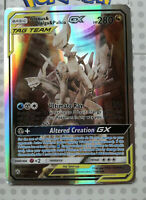 Pokemon card Arceus & Dialga & Palkia GX 221/236 HOLO Full Art Mint PROXY CARD