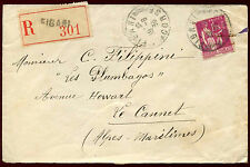 France 1936 Registered Cover #C33987