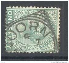 "SOUTH AUSTRALIA, Squared Circle postmark """"QUORN"""" on QVictoria stamp (D)"