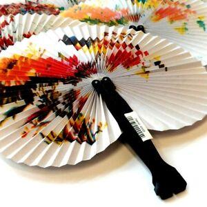 Chinese Paper Folding Hand Held Fan Fancy Dress Accesories