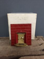 CAMINO FUOCO di metallo schermo FUOCO DOLLS HOUSE miniatura 1:12 TH scala