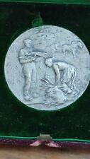 Médaille en argent Adolphe Rivet societe d'agriculture des hautes alpes 34g