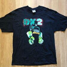Vintage 2002 Batman Dark Knight t-shirt XL black vtg DC Comics Joker Marvel