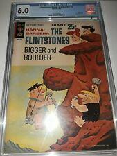 """THE FLINTSTONES """"BIGGER and BOULDER"""" #2 (1966) CGC 6.0 ( Fine )"""