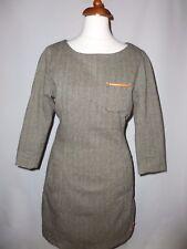 Super Dry el vestido de tweed GENTRY-Size UK XS == Reino Unido 8
