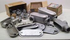 "50 PER! Appleton K50 1//2/"" Steel Domed Conduit Body Covers BS SERIES MK"