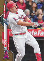 Mike Trout 2020 Topps Update Active Leaders Gold Parallel #U-243 Angels /2020
