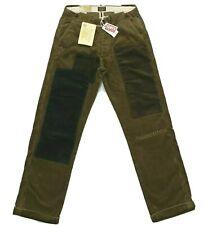 $395 Levi's Men`s Vintage Clothing 1900s Patchwork Corduroy Pants Size 27