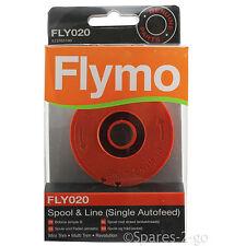 FLYMO Strimmer Spool & Line Single Autofeed Mini Trim 200 250 300 Genuine Part