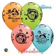 Moana 8 X Latex  balloon birthday party Disney Maui