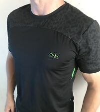 Hugo Boss T Shirt Top Men's Size Large Black BNWT NEW
