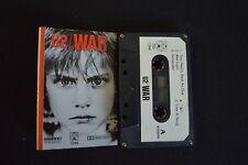 U2 WAR ULTRA RARE MALAYSIAN CASSETTE TAPE!