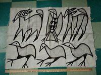 Animal Alpaca-Wool Blanket-Rug-Throw VTG Mexican/South American/Native #8