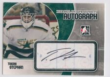 07-08 ITG HEROES & PROSPECTS AUTOGRAPH AUTO TOBIAS STEPHAN STARS *51593