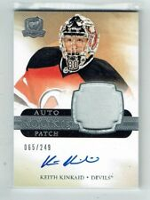11-12 UD The Cup  Keith Kinkaid  /249  Auto  Patch  Rookie