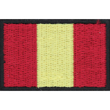KINGS ROYAL HUSSARS KRH TRF CAVALARY BRITISH ARMY FLASH PATCH