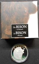 2014 CANADA ~ THE BISON ~ A PORTRAIT ~ SILVER PROOF