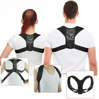 Adjustable Posture Corrector Unisex Back Waist Shoulder Body Support Brace Belt