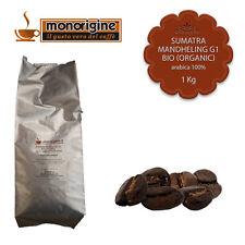 Caffè Arabica Biologico in grani Sumatra Mandheling G1 BIO (Organic) - 1 Kg