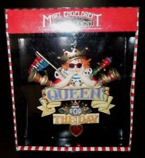 Nib Kurt S. Adler Mary Engelbreit Christmas Collection Queen 4 the Day Ornament
