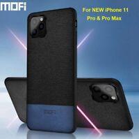 MOFi For Apple iPhone 11 Pro/Pro Max Slim Soft Fabric Case Shock Back Cover