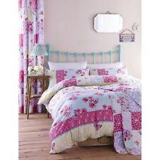Catherine Lansfield DESIGNER Gypsy Patchwork King Cotton Duvet Cover Set