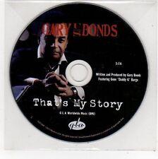 (FE710) Gary Bonds, That's My Story - 2013 DJ CD