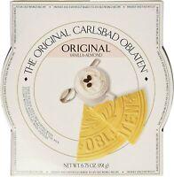 The Original Carlsbad Oblaten 6.75 Oz. Gift Tin, Vanilla-almond