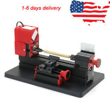 US 6in1 Lathe Machine Tool Kit Jigsaw Milling Lathe Drilling Machine 20000rpm