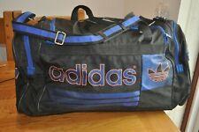 Retro Adidas Holdall Fen Bolso Fin De Semana Negro/Azul/Naranja Deportes