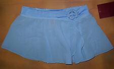 NWT Mirella Ballet Dance Blue Skirt Diamante Buckle Med Child  8/10 MS54C