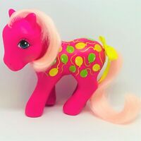 Vintage G1 My Little Pony Twice as Fancy Up Up and Away with Ribbon & Pink Hair