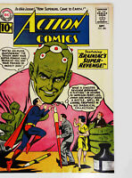 Action Comics #280 DC 1961 FN+ Silver Age Comic Book Brainiac 1st Print