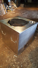 """Stainless Steel Tandoori Clay Indian Oven, Natural Gas, one burner, 32"""" x 32"""""""