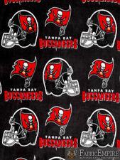 NFL Tampa Bay Buccaneers Licensed Fleece Fabric NL-NFL-71-OT