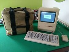 Vintage collectable Apple Macintosh 512k Package with Bag and Games!