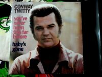 CONWAY TWITTY YOU'VE NEVER BEEN THIS FAR BEFORE VINYL LP MCA 1973 BABY'S GONE