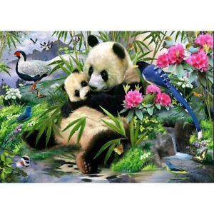 5D Diamond Painting Art Full Drill Embroidery Animal Panda Cross Stitch Kits Art